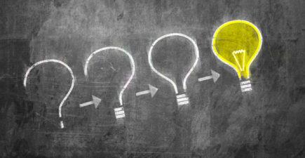 Ampoules avec idées