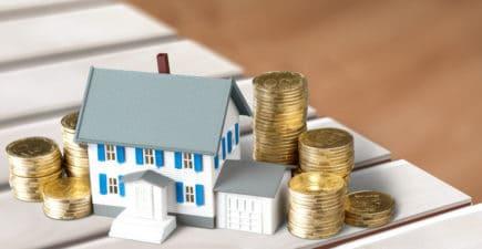 Petite maison avec pièces