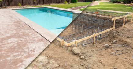 Construction d'une piscine, attention à la hausse des impôts locaux